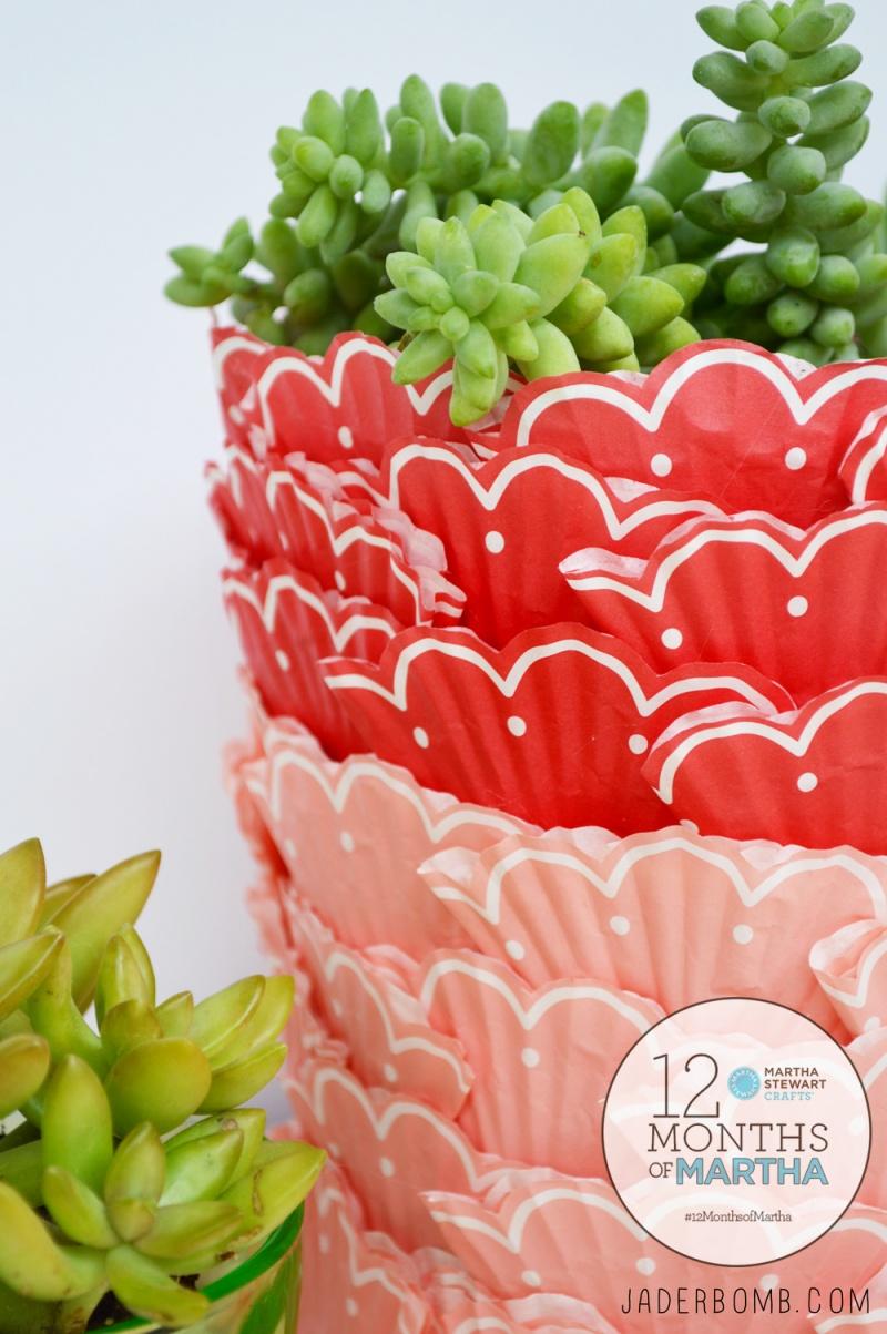 Bright Diy Cupcake Succulent Planter