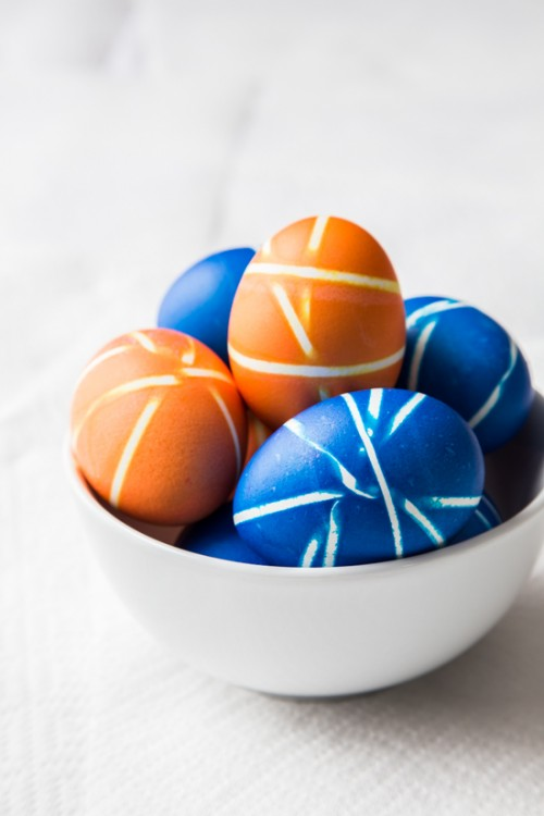 Bright Diy Easter Eggs With Different Patterns