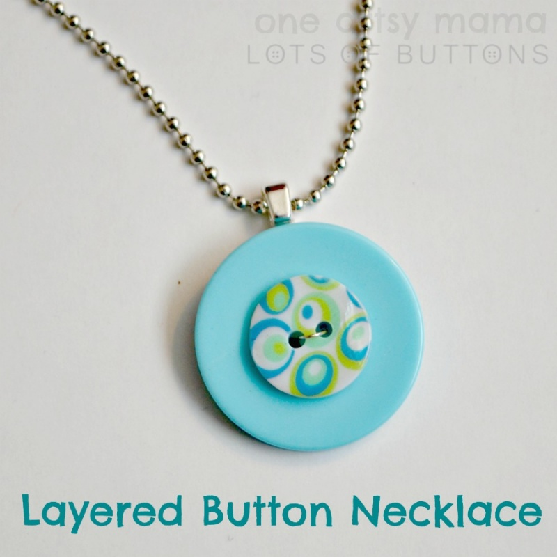 Bright Diy Layered Necklace
