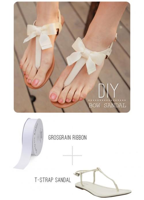 bow sandals (via swellmayde)