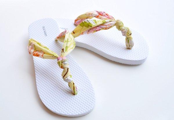 knot flip flops