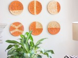 Bright Diy Wall Art Of Rattan Plate Holders