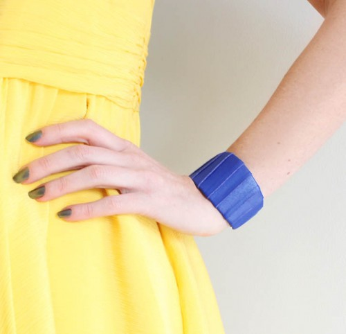 Bright Diy Wrapped Leather Cuff