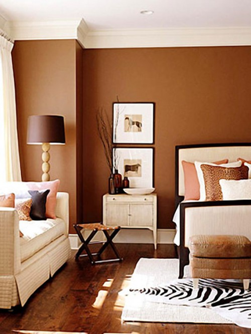 37 Brown Room Decorating Ideas Shelterness