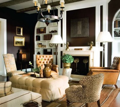 Brown Interior Decorating Ideas