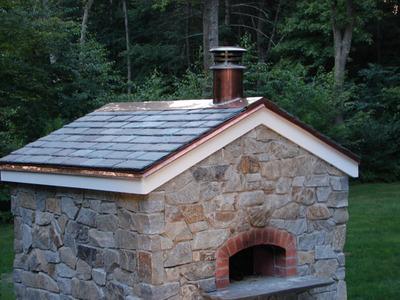 stone pizza oven (via diynetwork)