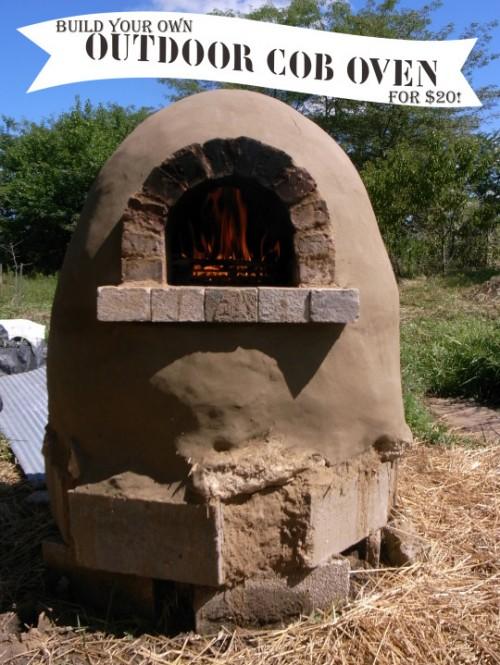 outdoor cob oven to make (via homegrownandhealthy)