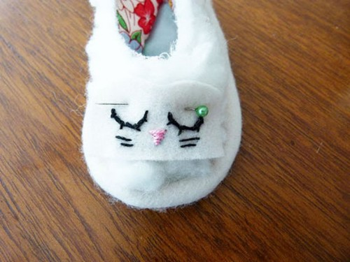 Bunny Shoes As An Easter Present