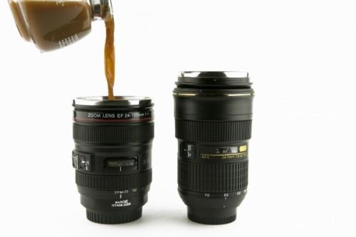Camera Lens Mugs