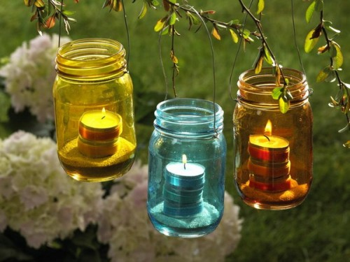 25 Ideas To Use Candles As Garden Lights Shelterness