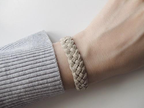 Casual DIY Five Strand Braid Bracelet