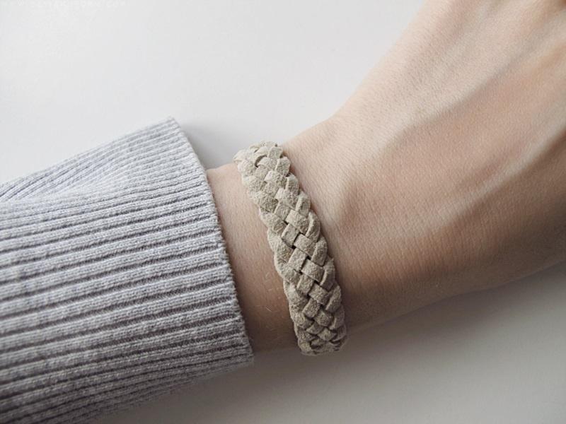 Casual Diy Fivestrand Braid Bracelet