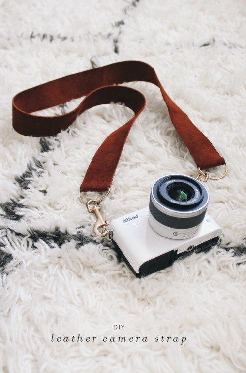 Casual DIY Leather Camera Strap