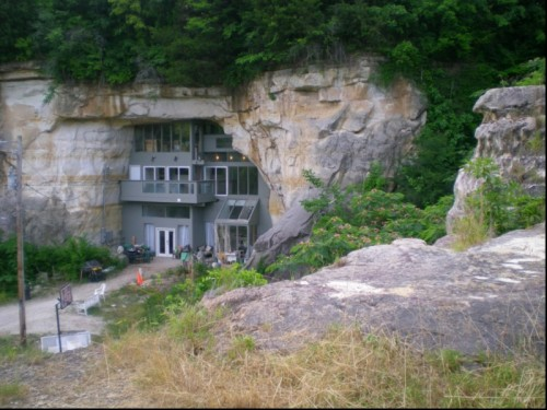 Carved-Out Cave House