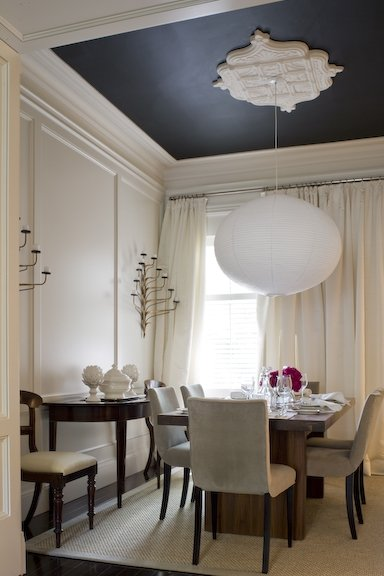 Ceiling Decoration Ideas Beauteous Of Black Dining Room Ceiling Picture