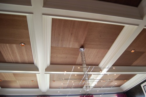 wood panels is an easy an very cozy way to decorate a ceiling