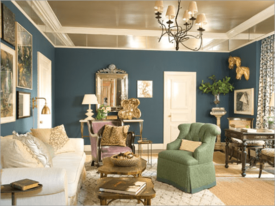 bedroom ceiling paint ideas