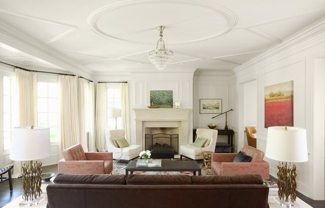 25 cool ceiling molding and trim ideas photo 6