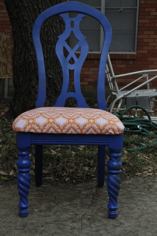 Chair Redo After