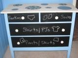 Chalkboard Dresser Painting Ideas