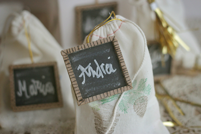 chalkboard tags for presents