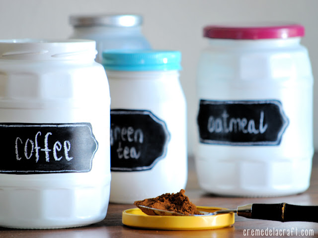 chalkboard labels for jars