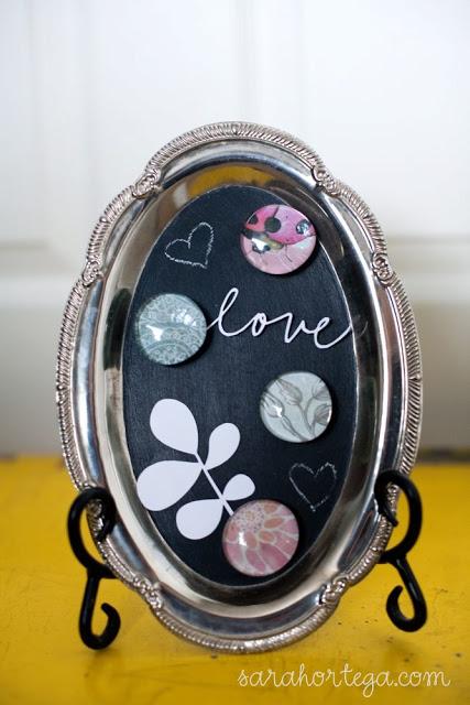 chalkboard silver platter (via sarahortega)