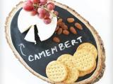 chalkboard cheese tray