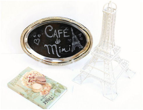 mini chalkboard tray (via poshlittledesigns)