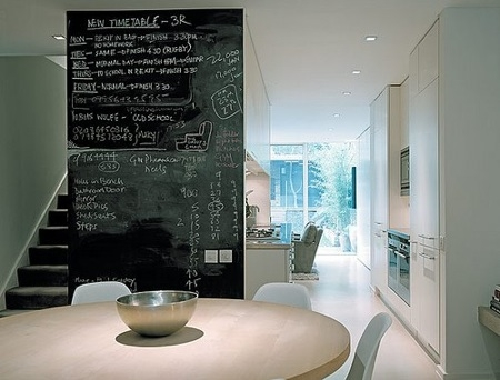 how to make a wall into a chalkboard