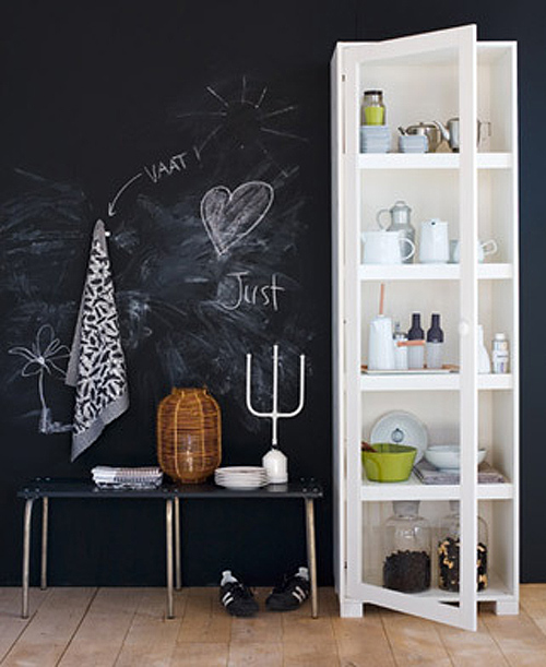Different Ways To Paint A Room: 45 Ideas To Use Chalkboard Walls In Different Rooms