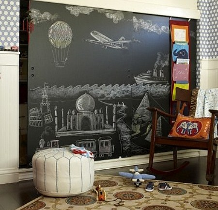 45 Ideas To Use Chalkboard Walls In Different Rooms
