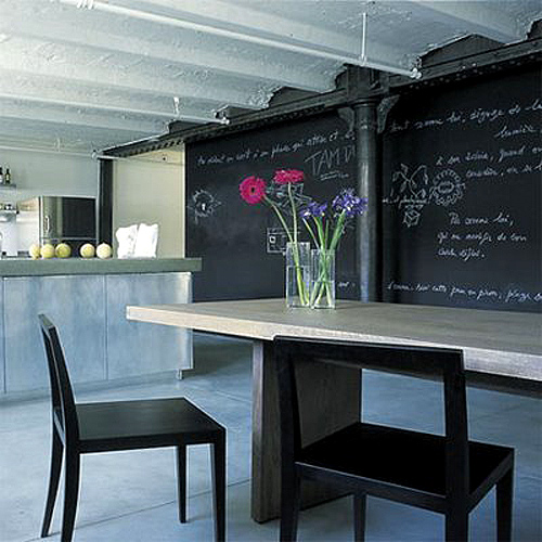 15 Whimsical Kitchen Designs With Chalkboard Wall: 45 Ideas To Use Chalkboard Walls In Different Rooms