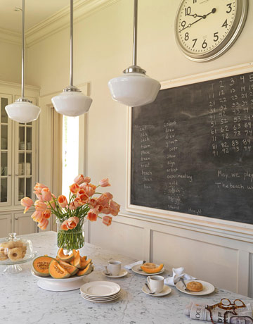 45 ideas to use chalkboard walls in different rooms - shelterness