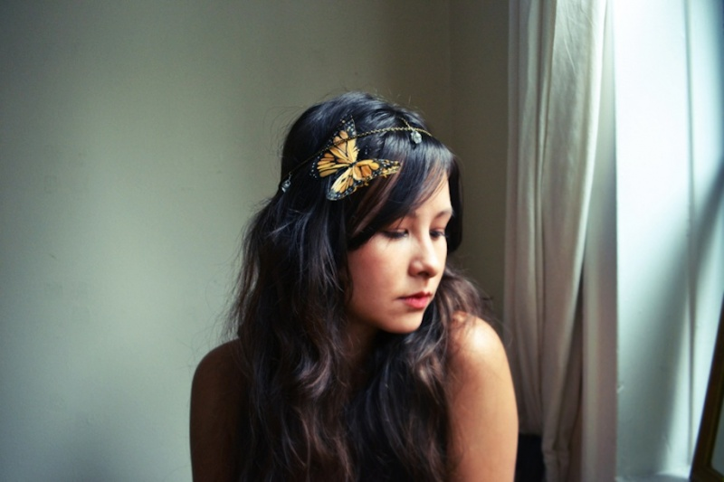 bohemian chain headpiece