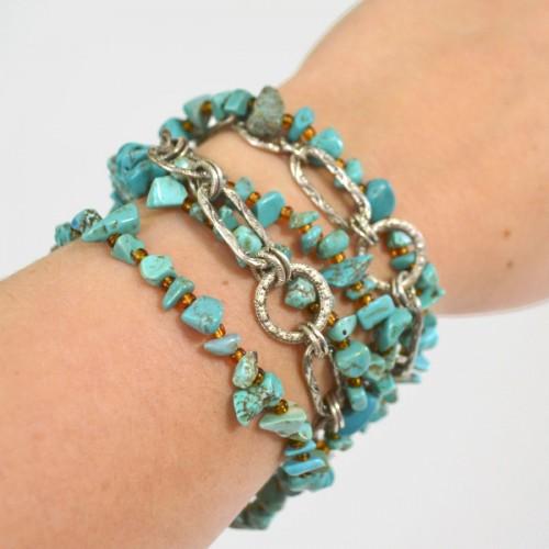 easy bohemian jewelry (via momspark)