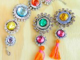 colorful boho jewelry
