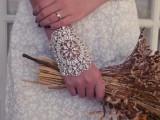 boho rhinestone bracelet