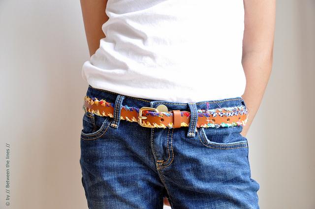 bohemian styled belt