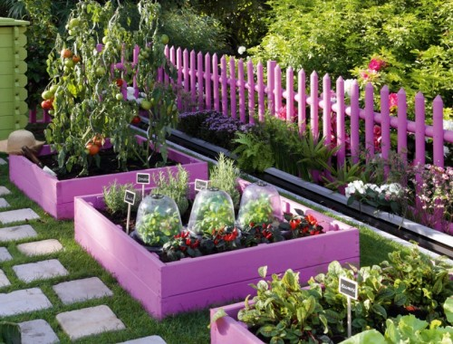 How To Design A Charming Girlish Garden