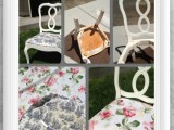 reupholstered shabby chic chairs