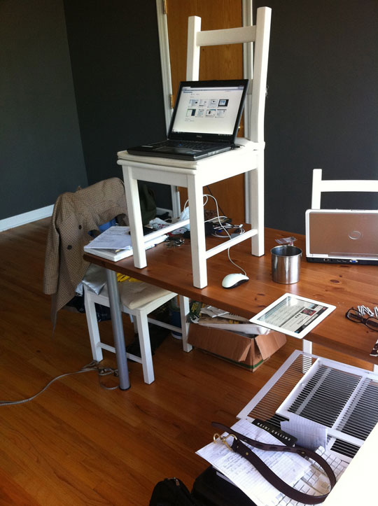 Cheap And Simple Diy Standing Desk
