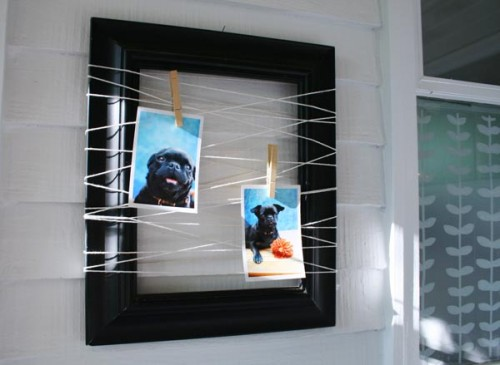 Cheap DIY Frame For Several Photos