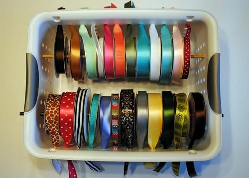 Cheap Diy Ribbon Organizer