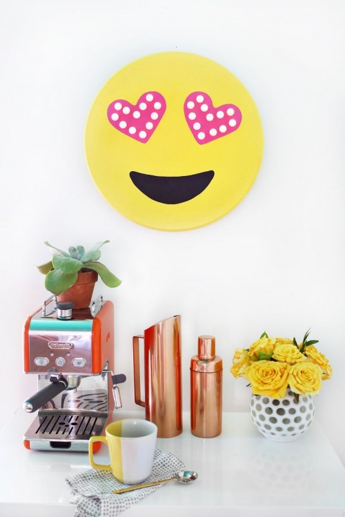 Cheerful And Bright DIY Emoji Marquee
