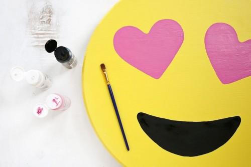 Cheerful And Bright DIY Emoji Marquee