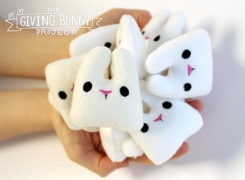 giving bunny