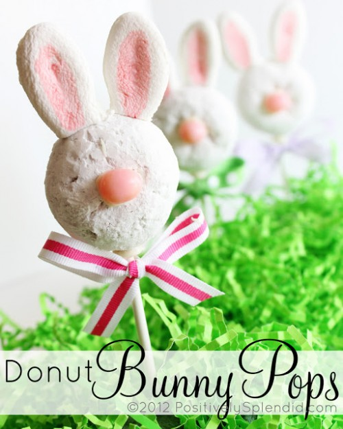 donut bunny pops (via positivelysplendid)