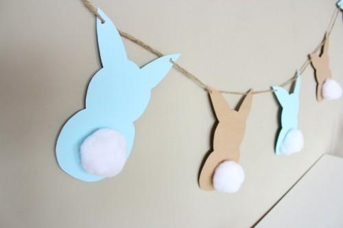 bunny garland (via designimprovised)