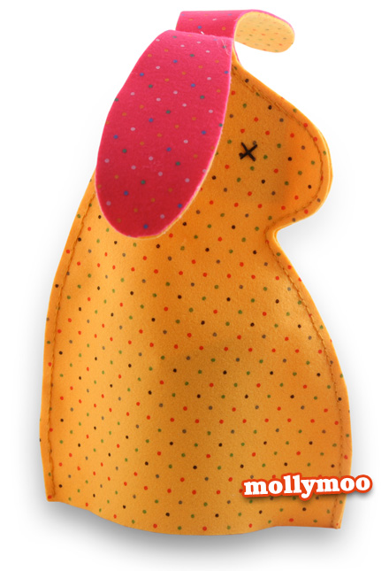 felt bunny egg cozy (via mollymoo)